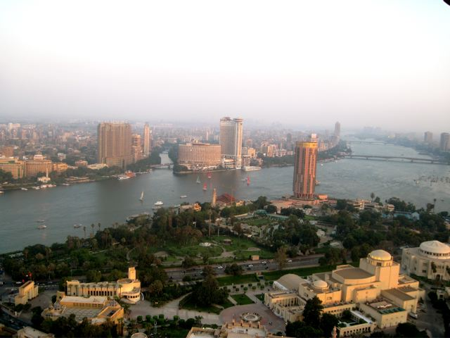 Cairo at Sunset